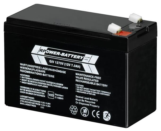 Аккумуляторная батарея ABB GHV9240001V0011 7 А·ч