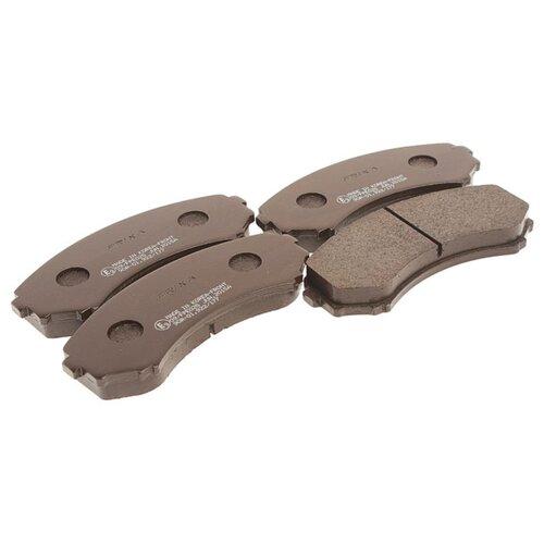 Фото - Дисковые тормозные колодки передние Frixa FPE025 для Mitsubishi, Nissan, Mazda (4 шт.) дисковые тормозные колодки передние ferodo fdb4446 для mazda 3 mazda cx 3 4 шт