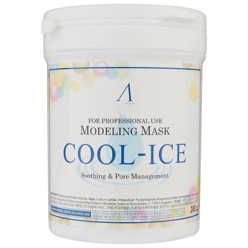 Anskin маска альгинатная Cool-Ice c охлаждающим и успокаивающим эффектом, 240 г, 700 млМаски<br>