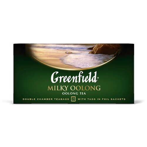Чай улун Greenfield Milky Oolong в пакетиках, 25 шт. чай улун императорский чай professional oolong в пакетиках для чайника 20 шт