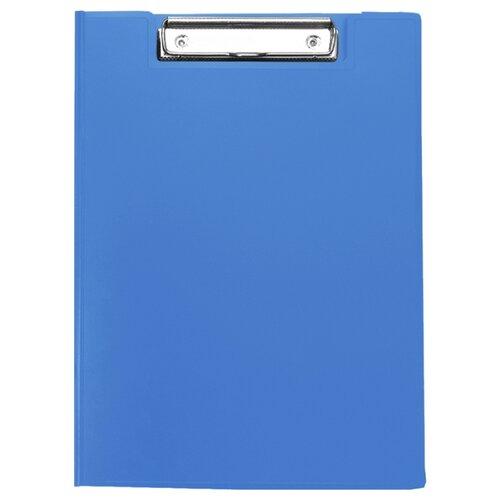 Купить Berlingo Папка-планшет с зажимом А4, пластик синий, Файлы и папки
