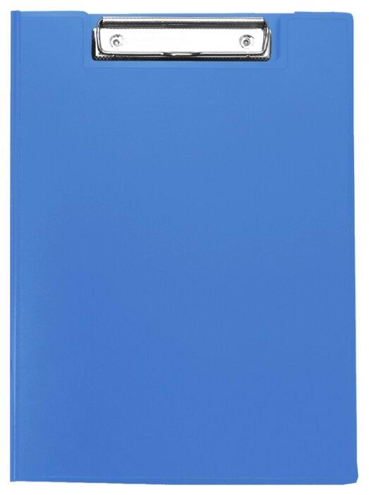 Купить Berlingo Папка-планшет с зажимом А4, пластик синий по низкой цене с доставкой из Яндекс.Маркета (бывший Беру)