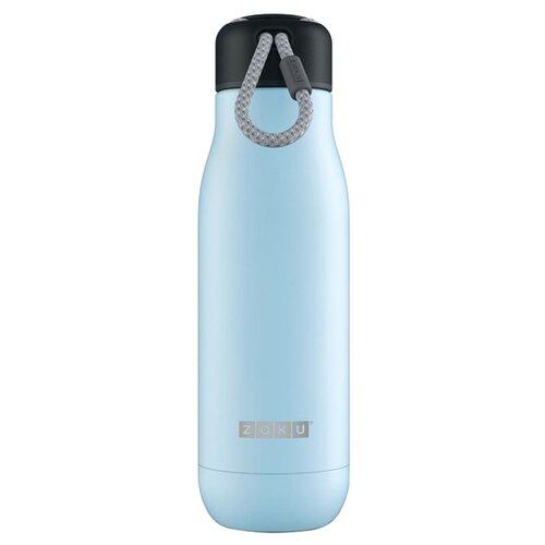 Термобутылка ZOKU ZK142, 0.5 л голубой