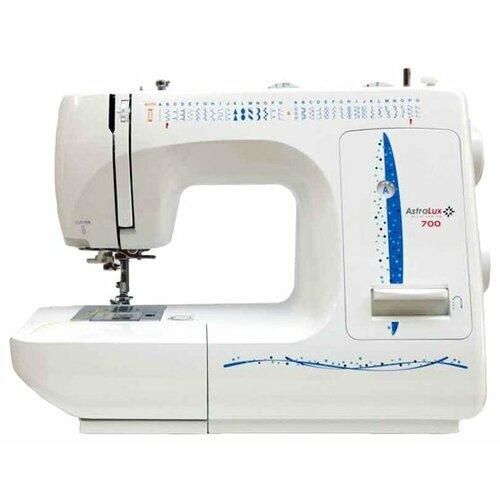 Швейная машина AstraLux 700, бело-синий astralux 545
