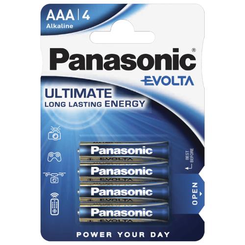 Фото - Батарейка Panasonic Evolta AAA/LR03, 4 шт. батарейка panasonic evolta aaa lr03 4 шт