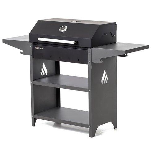Угольный гриль Gratar Family Standart BBQ, черный/серый