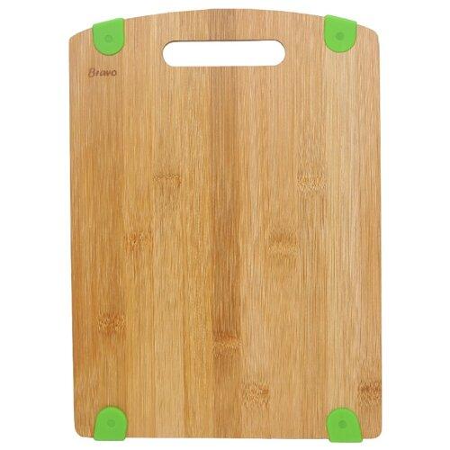 Разделочная доска BRAVO 314 33х24х1,2 см зеленый