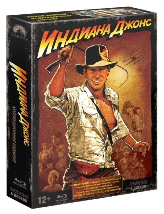 Индиана Джонс: Квадрология (6 Blu-ray)