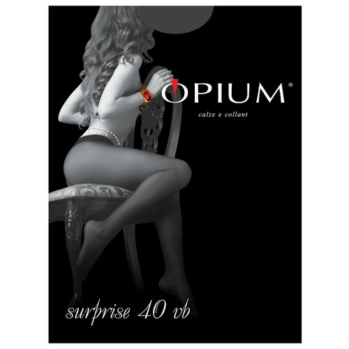 Колготки Opium Surprise 40 den, размер 4-L, fumo (серый) opium 467 page 10