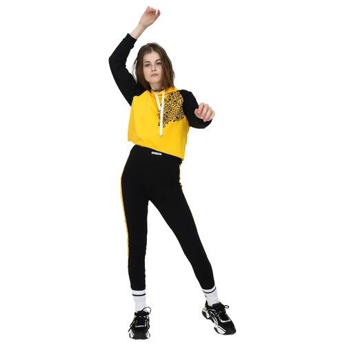 Купить Спортивный костюм Nota Bene размер 158, черный/желтый, Спортивные костюмы