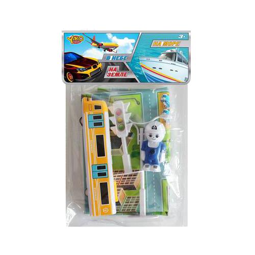 Купить Игровой набор Yako Город M0365, Игровые наборы и фигурки