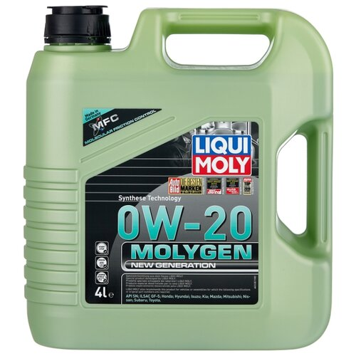цена на Моторное масло LIQUI MOLY Molygen New Generation 0W-20 4 л