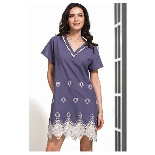 Пляжная туника Mia-Mella Marsell размер XS синий/белый платье oodji ultra цвет красный белый 14001071 13 46148 4512s размер xs 42 170