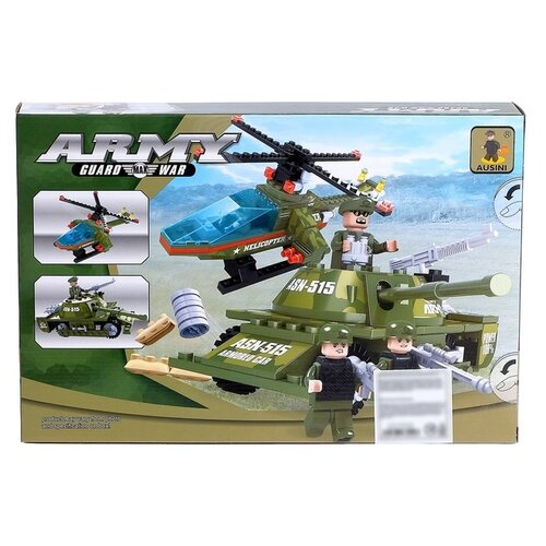 Купить Конструктор Ausini Армия 22605, Конструкторы