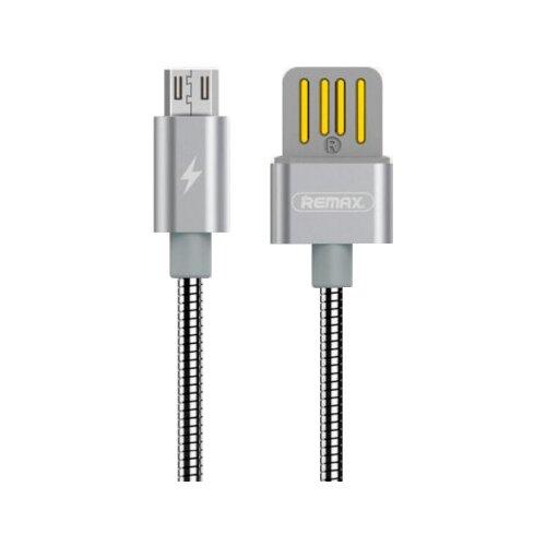 Кабель Remax Tinned Copper USB - microUSB (RC-080m) 1 м металлик кабель remax chips желтый