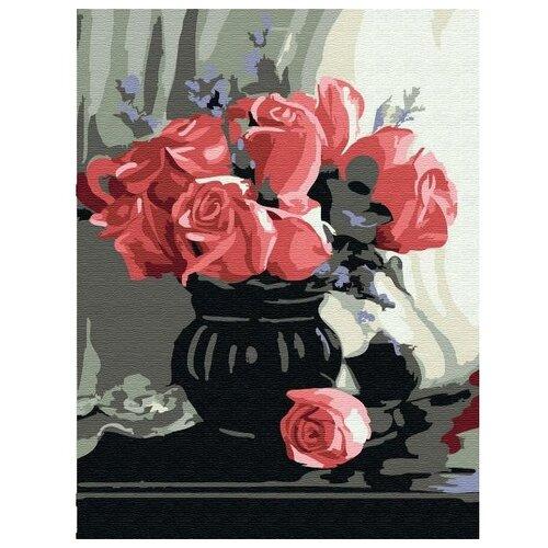Купить Molly Картина по номерам Розы 15х20 см (KH0764), Картины по номерам и контурам