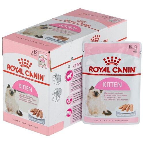 Корм для котят Royal Canin Instinctive мясное ассорти 12шт. х 85 г (паштет) cat wet food royal canin instinctive 7 spider for cats over 7 years old pieces in sauce 24 85 g