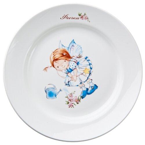 Кубаньфарфор Тарелка глубокая Феечки 055 20 см белый россия 20 25 35 тарелка палех 20 см
