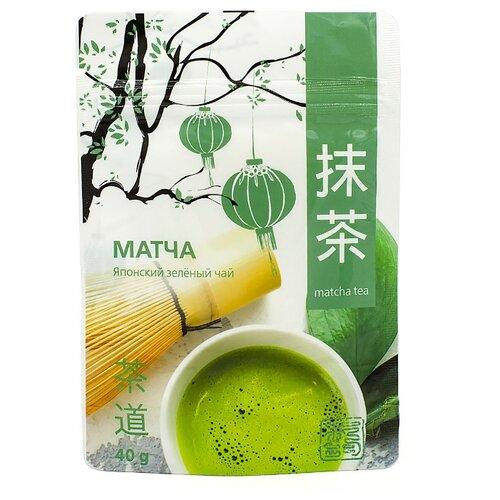Чай зеленый 101 чай Матча, 40 г чай зеленый матча латте 40 г