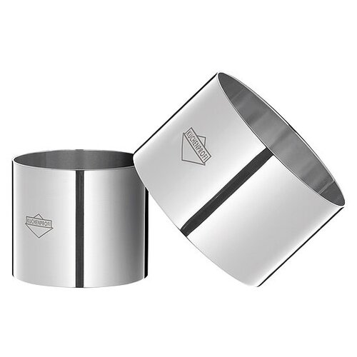 Десертные декоративные кольца. Набор 4 шт. от немецкого бренда KÜCHENPROFI