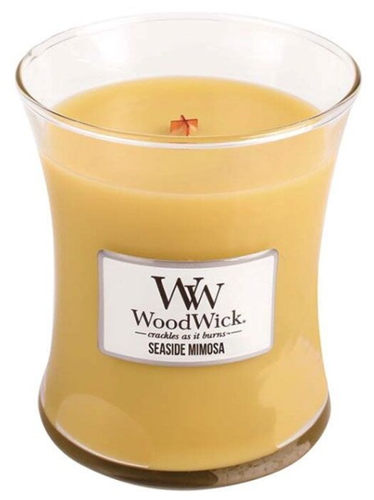 Свеча WoodWick Seaside Mimosa (92085), средняя