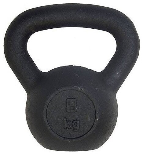 Гиря цельнолитая Sport Elite ES-0285 8 кг