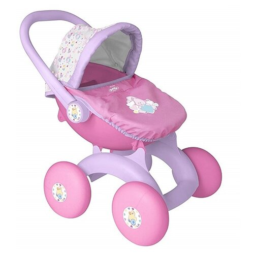 Купить Коляска-трансформер Zapf Creation Baby Born (1423576) розовый/сиреневый, Коляски для кукол
