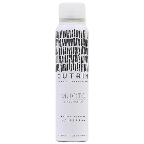 Фото - Cutrin Лак для волос Muoto, экстрасильная фиксация, 100 мл лак для волос моментальной фиксации cutrin muoto strong instant 300 мл