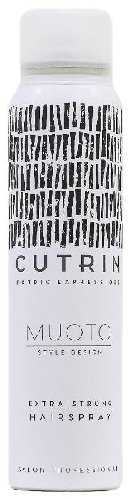 Cutrin Лак для волос Muoto, экстрасильная фиксация