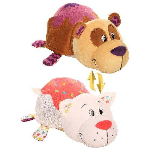 Купить Мягкая игрушка 1 TOY Вывернушка Ням-Ням Панда-Кошечка с ароматом 40 см, Мягкие игрушки