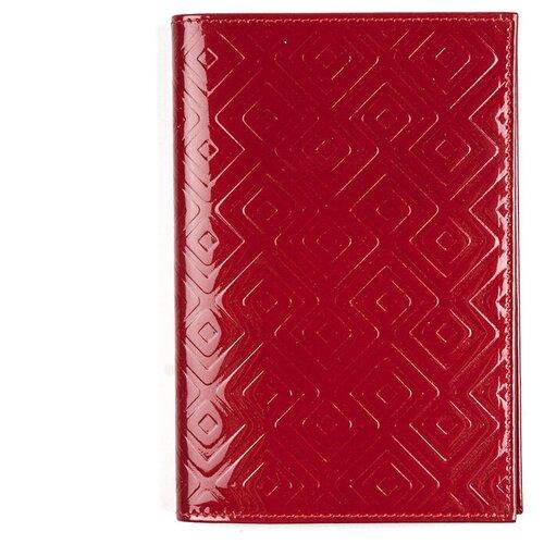 Обложка для паспорта РФ из кожи MM-N5, OP-0-3 Red BIATRISS
