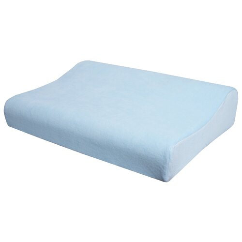 Подушка ортопедическая Крейт П-212 38*55 см голубой