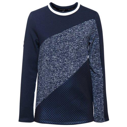 Купить Лонгслив Nota Bene размер 134, темно-синий, Футболки и майки