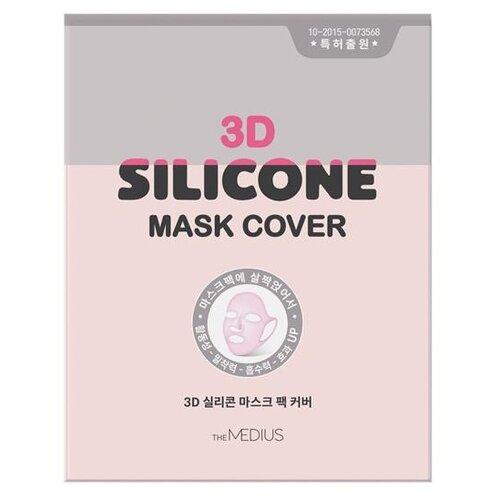 Маска-фиксатор MEDIUS 3D Silicone Mask Cover розовый.