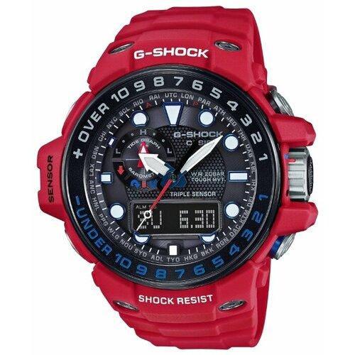Наручные часы CASIO GWN-1000RD-4A цена 2017