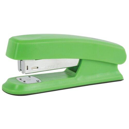 Купить BRAUBERG Степлер Option, для скоб №24/6 зеленый, Степлеры, скобы, антистеплеры