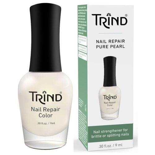 Средство для ухода Trind Nail Repair Color, 9 мл, белый перламутровый