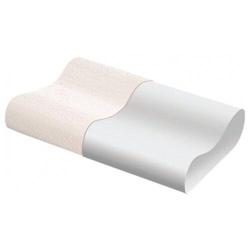Подушка Тривес ортопедическая ТОП-117 31 х 49 см белый цена 2017