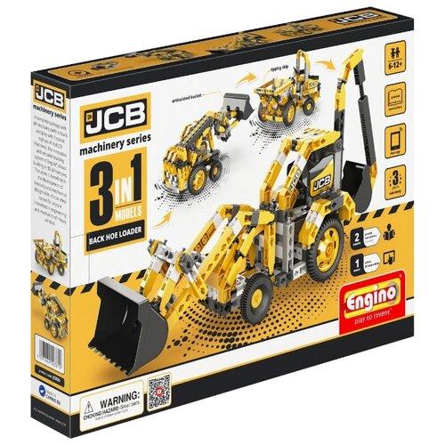 Купить Конструктор ENGINO JCB Machinery JCB30 Экскаватор-погрузчик 3 в 1, Конструкторы