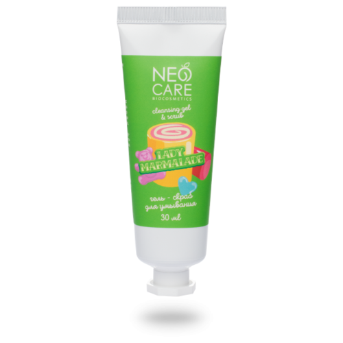 Фото - Neo Care гель-скраб для лица Lady marmalade 30 мл крем для рук neo care apricot mousse увлажняющий 30 мл