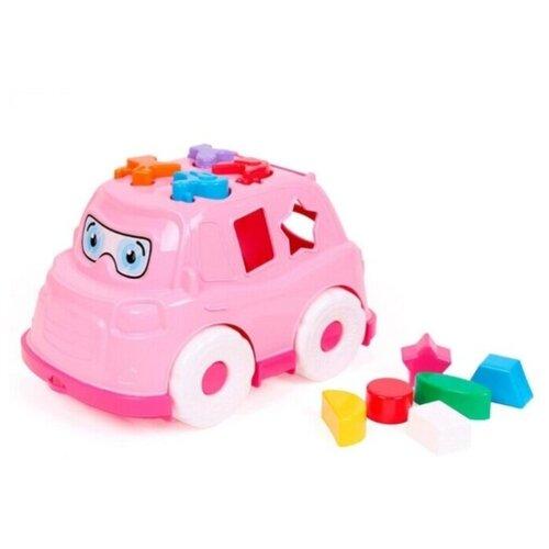 Купить Автобус-сортер Technok Toys, ц. розовый, ТехноК, Сортеры