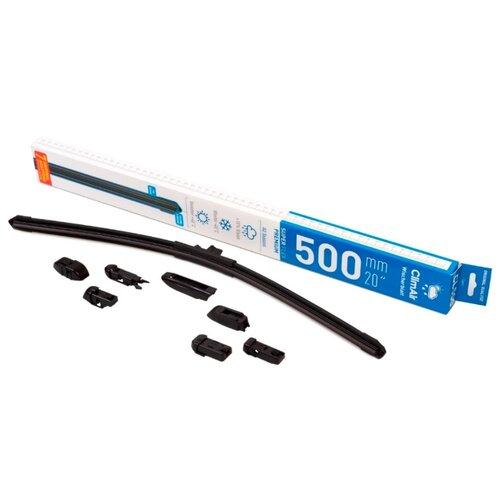 Щетка стеклоочистителя бескаркасная ClimAir CL-500 500 мм, 1 шт.