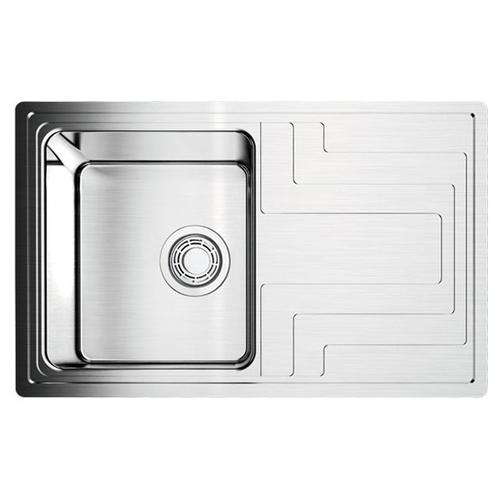 Фото - Врезная кухонная мойка 78 см OMOIKIRI Mizu 78-IN нержавеющая сталь врезная кухонная мойка 77 см omoikiri kasumigaura 77 in 4993728 нержавеющая сталь