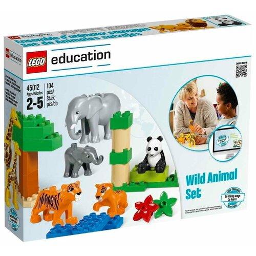 Купить Конструктор LEGO Education PreSchool DUPLO Дикие животные 45012, Конструкторы