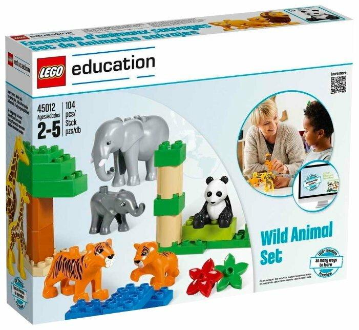 Конструктор LEGO Education PreSchool DUPLO Дикие животные 45012
