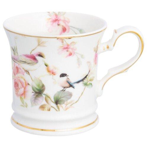 Фото - Elan gallery Кружка Певчие птички 170 мл белый/розовый кружка elan gallery home 340 мл