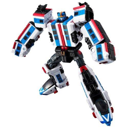 Купить Трансформер YOUNG TOYS Tobot Galaxy detectives Power Train 301105 белый/синий/черный, Роботы и трансформеры