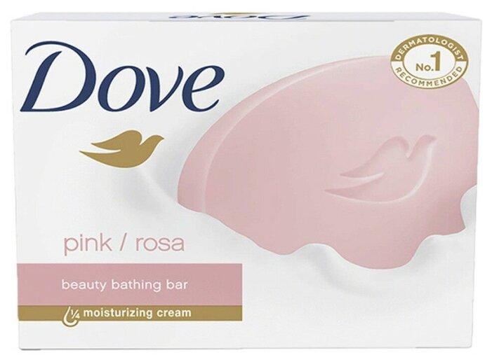 Крем-мыло кусковое Dove Pink/Rosa Beauty Bathing Bar — купить по выгодной цене на Яндекс.Маркете