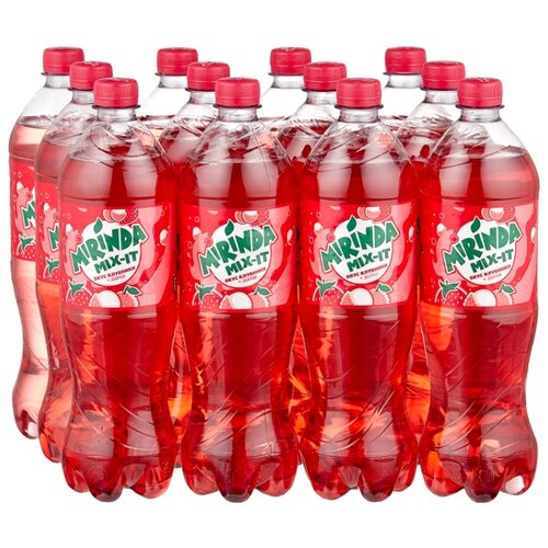 Газированный напиток Mirinda Mix-It Клубника-Личи, 1 л, 12 шт.