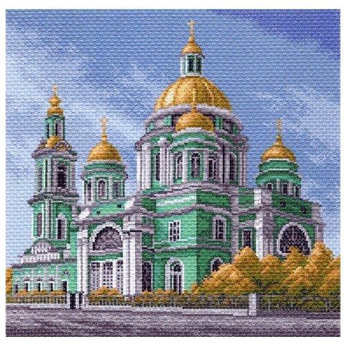 Елоховский собор в Москве Рисунок на канве 41/41 41х41 (34х34) Матренин Посад 1549